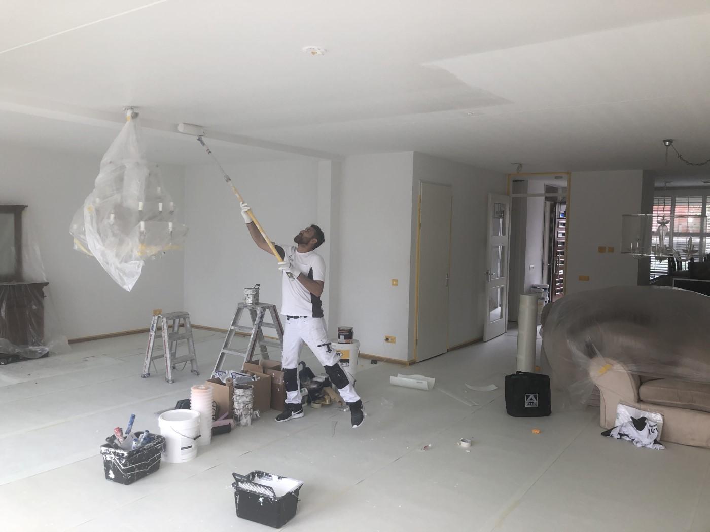 plafond laten sauzen